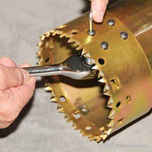 Replacing A Core Digger Blade