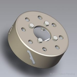 Digger Head Universal Adapter Bolts