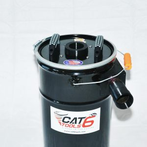 tangential-filter-separator-7-gal-steel-pail-front view